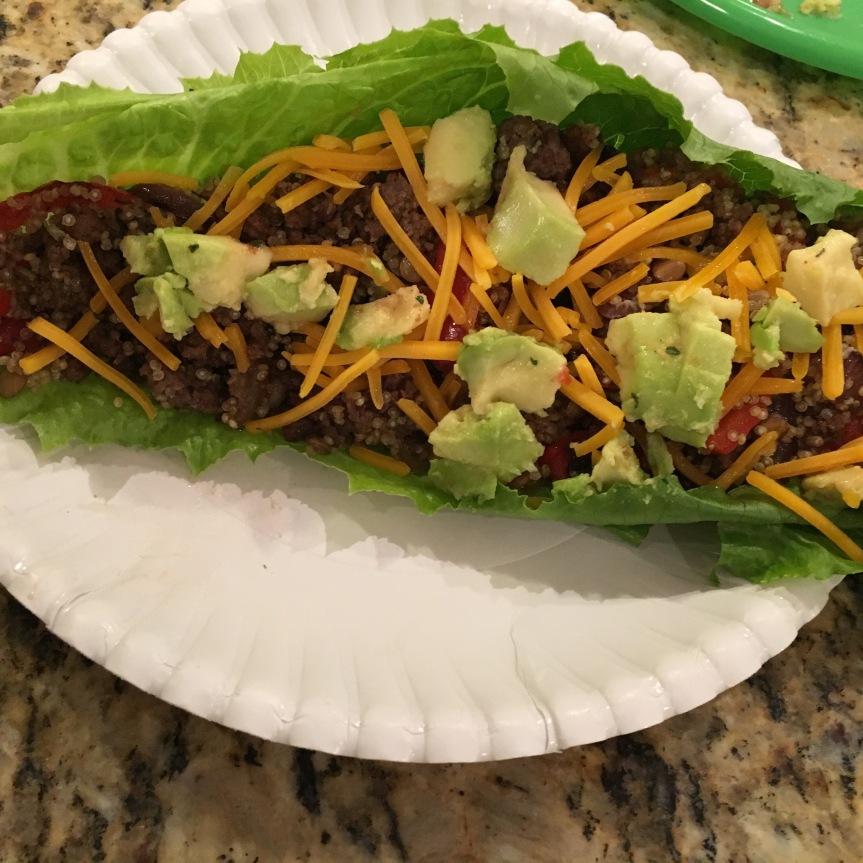 Lettuce Burrito
