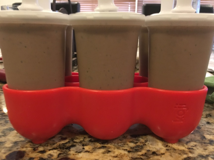 Chocolate Protein Ice Pops